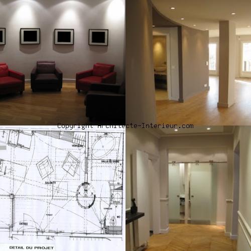 d coration int rieure appartement paris 18 me architecte. Black Bedroom Furniture Sets. Home Design Ideas