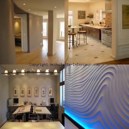 architecte int rieur duplex paris 16 me par architecte. Black Bedroom Furniture Sets. Home Design Ideas