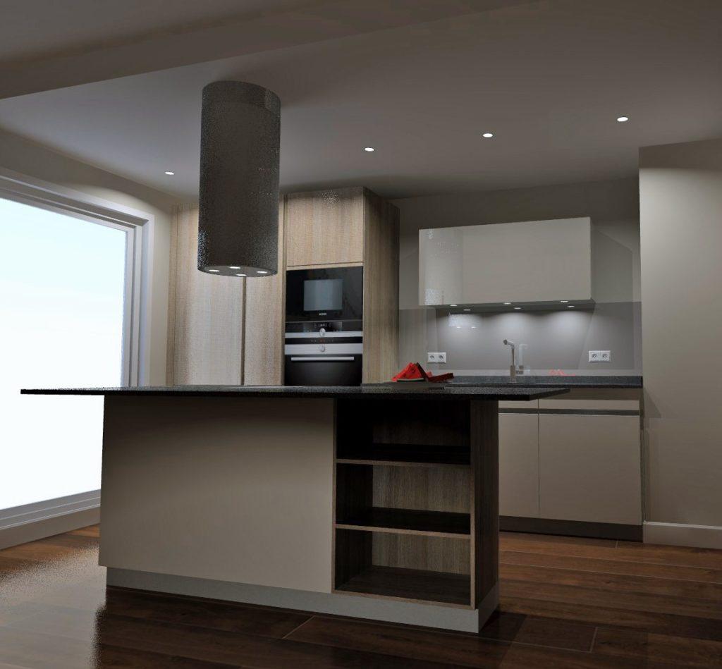 cuisine en 3d architecte interieur
