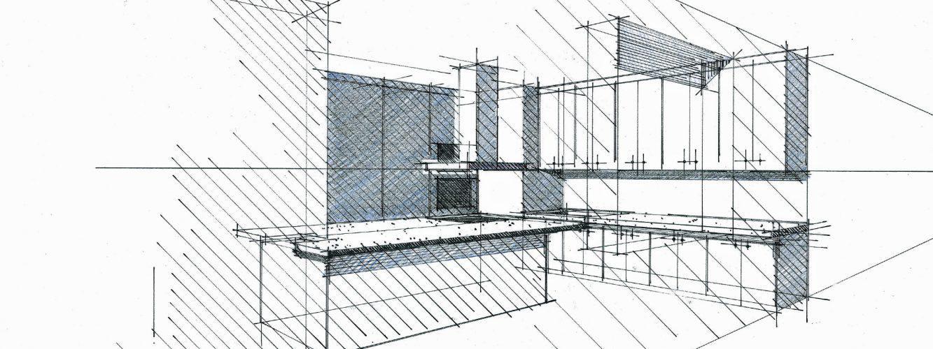 Esquisses et exemples de projet d architecture int rieure for Projet d architecture