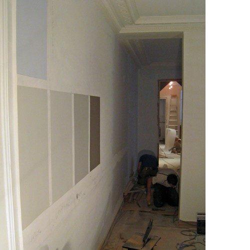 couleurs sur mur travaux architecte intérieur