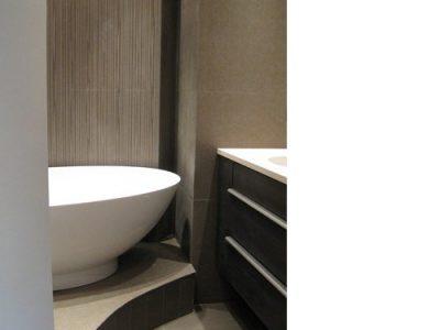 baignoire neuve travaux architecte intérieur