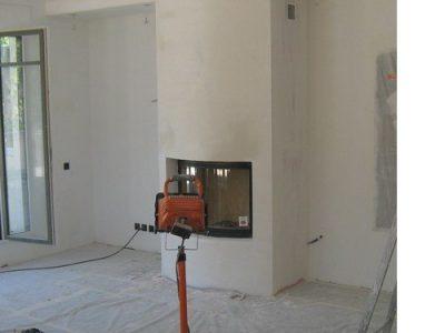 foyer et peinture fond travaux architecte intérieur