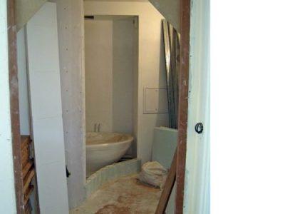 traitement des cloisins et baignoire architecte intérieur